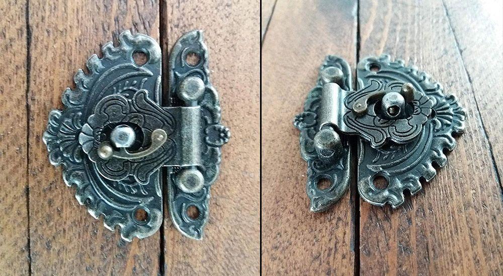 cerraduras de sobreponer antiguas